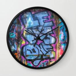 Painted Doorway Wall Clock