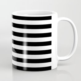 Black And White Stars And Stripes Coffee Mug