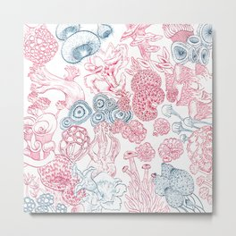 Mycology 2 Metal Print