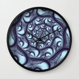 Fractal Web Wall Clock