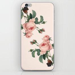 Butterflies in the Rose Garden iPhone Skin