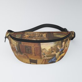 Frans Francken the Younger - Pictura, Poesis and Musica in a Pronkkamer Fanny Pack