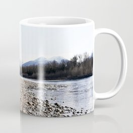 Pebbles at Squamish River Coffee Mug
