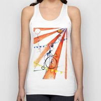 circus Tank Tops featuring Circus by LolMalone