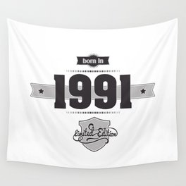 Born in 1991 Wall Tapestry