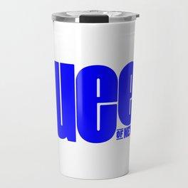Queen of New York (Blue) Travel Mug