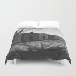 burial chambers Duvet Cover