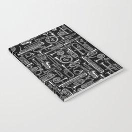 Horns B&W Notebook