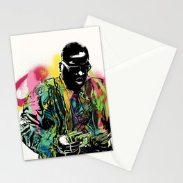 Biggie Smalls Spray Paint Illustration Stationery Cards