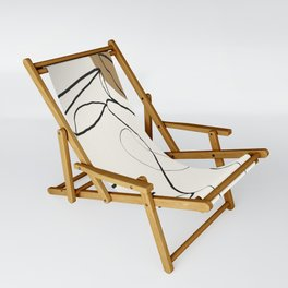 Abstract Face Sling Chair