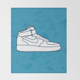 #13 Nike Airforce 1 Throw Blanket