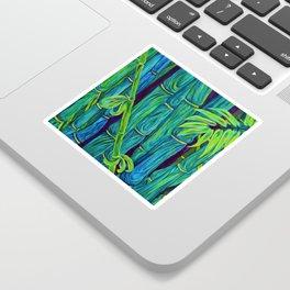 ʻOhe Polū - Blue Bamboo Sticker