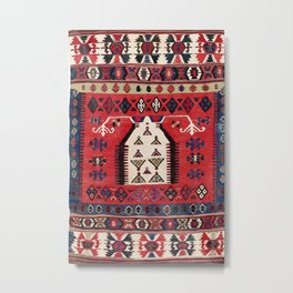 Aydinli Southwest Anatolian Niche Kilim Print Metal Print