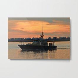 Pilot Vessel Metal Print