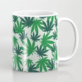 420 Cannabis mary jane Weed Pattern Gift Coffee Mug