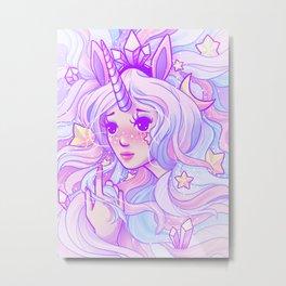 Unicorn Magic Metal Print