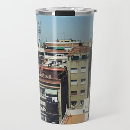 Roofs of Barcelona Travel Mug