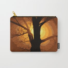 Sunset over the Tree I Carry-All Pouch
