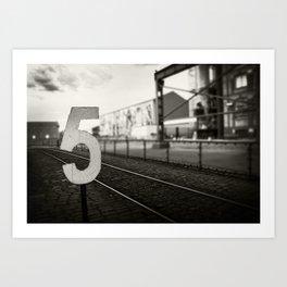 Platform 5 Art Print