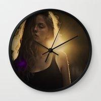 daria Wall Clocks featuring daria by MartaSyrko
