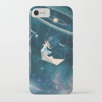 nasa iPhone & iPod Cases featuring My Favourite Swing Ride by Paula Belle Flores