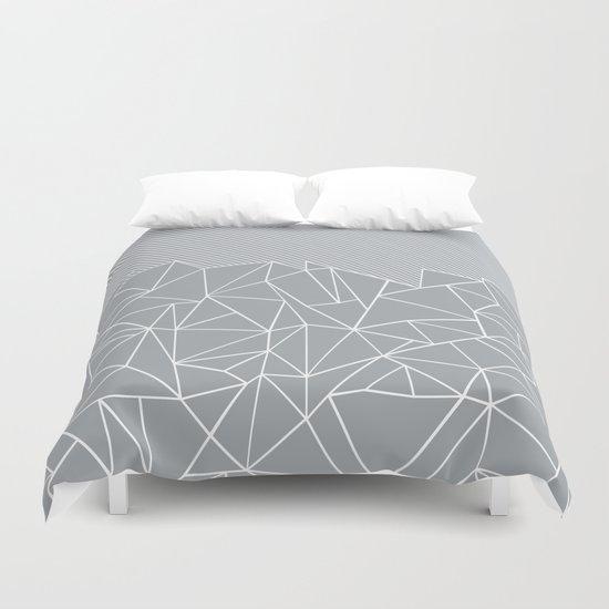 Ab Linear Grey Duvet Cover