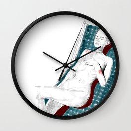 tomando el sol Wall Clock