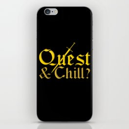 Quest & Chill? iPhone Skin