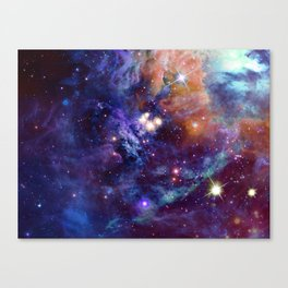 Bright nebula Canvas Print