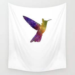 Hummingbird 02 in watercolor Wall Tapestry