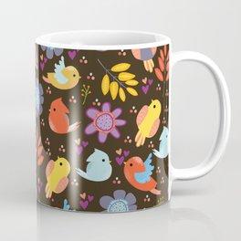 Pattern with birds Coffee Mug