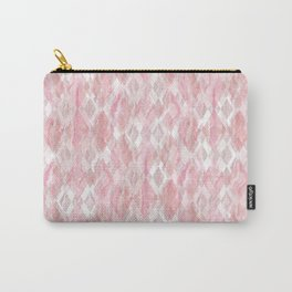 Harlequin Marble Mix Blush Carry-All Pouch