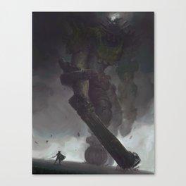 the Third Colossus Canvas Print
