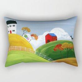 Hilly Hideaway Rectangular Pillow