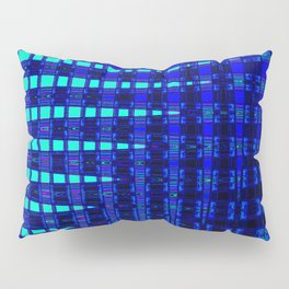 Blue in Shadows Pillow Sham