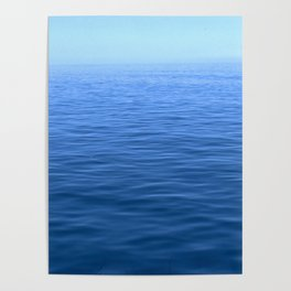 Ocean Waters to Infinity and Forever Poster