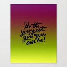 You - Inspiration Print Canvas Print