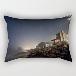 Starry Beach Rectangular Pillow
