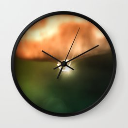 Just a drop of water in an endless sea Wall Clock