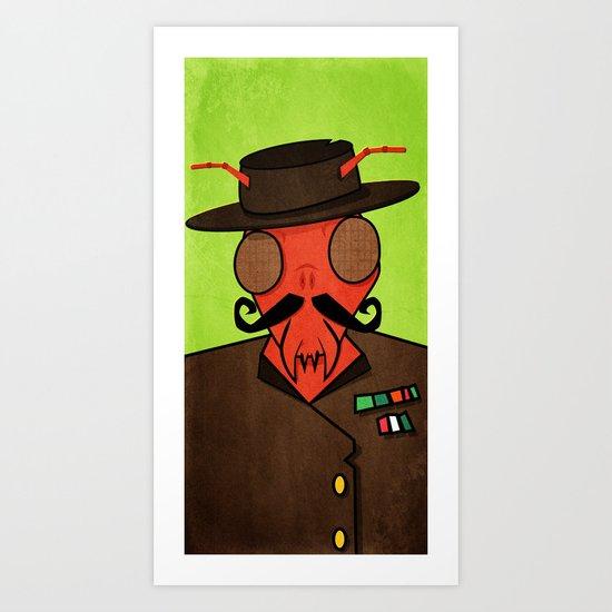 Serge Ant  Art Print