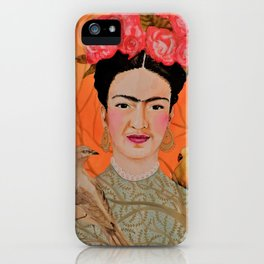 frida a coyoacan iPhone Case