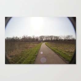 In a land far away Canvas Print
