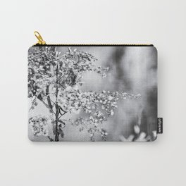 Grunge Film Noir Dried Plants Nature Image Carry-All Pouch