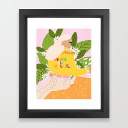 We are magical Framed Art Print