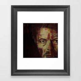 Watch That Man  Framed Art Print