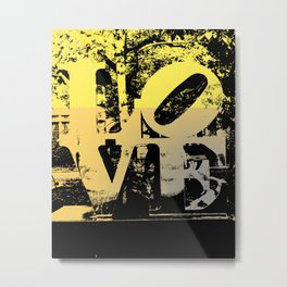 Philadelphia Love Metal Print