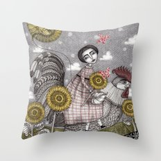 Last Days of Summer Throw Pillow