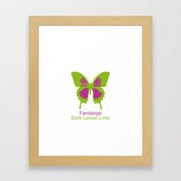 Ulysses Butterfly 15 Framed Art Print