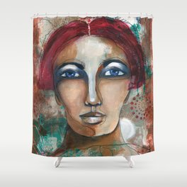 Herstory Shower Curtain