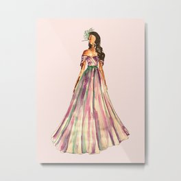 Belle Of The Ball (Pink Edition) Metal Print
